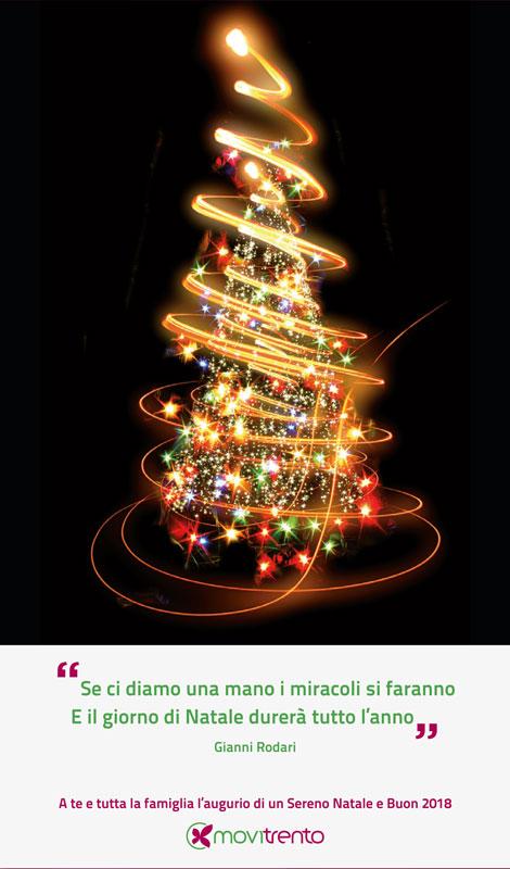 Auguri Di Natale Famiglia.Auguri Di Un Sereno Natale E Buon 2018 Movitrento